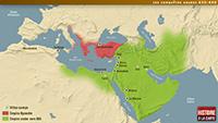 The Arab conquests 634-660