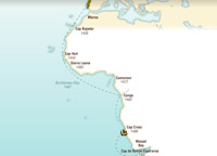 Portuguese Exploration of the African coastline