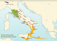 The peoples of the Italian peninsula (Mid 1st millennium BC)