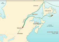 Travels of Jacques Cartier in Canada
