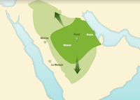 Creation of the Kingdom of Saudi Arabia by Ibn Saud
