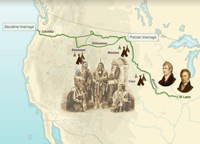The Lewis and Clark Expedition (1804-1806)
